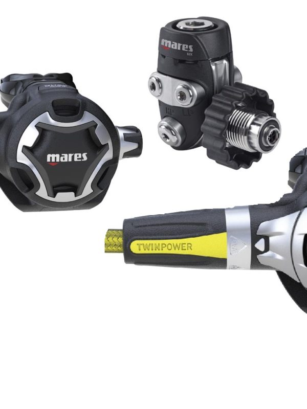 Mares Dual 52X set octopus mission 1
