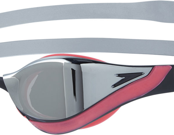 Speedo-Fastskin-Pure-Focus-Mirror-Goggle-Goggles-Silver red