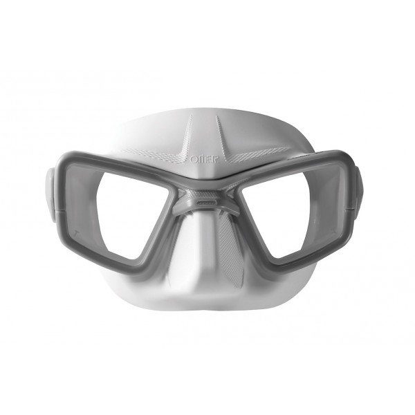 up maschera white