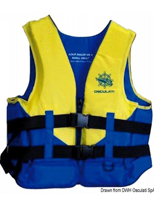 Aiuto al galleggiamento Aqua Sailor – 50 N (EN ISO 12402-5)