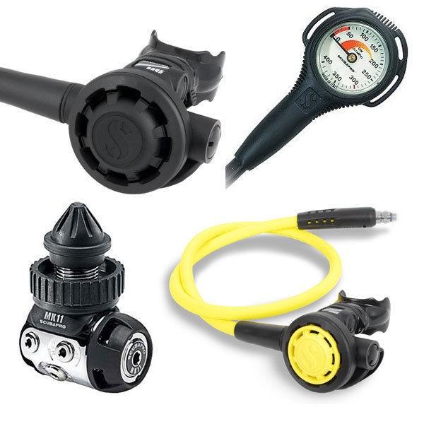 Scubapro-MK11-din-300-R095-Octopus-R095-Manometro-Compact-252295250183